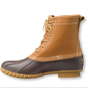 L.L. Bean Duck Boots Genuine Leather